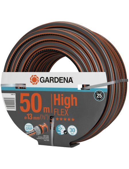 GARDENA Gartenschlauch, Durchmesser: 1/2 Zoll, Länge: 50 m, 30 bar (max.)
