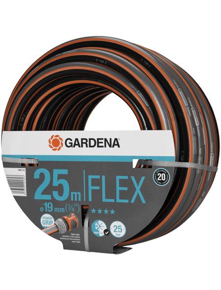 GARDENA Gartenschlauch, Durchmesser: 3/4 Zoll, Länge: 25 m, 25 bar (max.)
