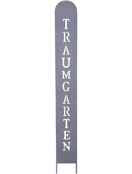 Gartenstele »Traumgarten«, BxH: 14 x 130 cm, Eisen