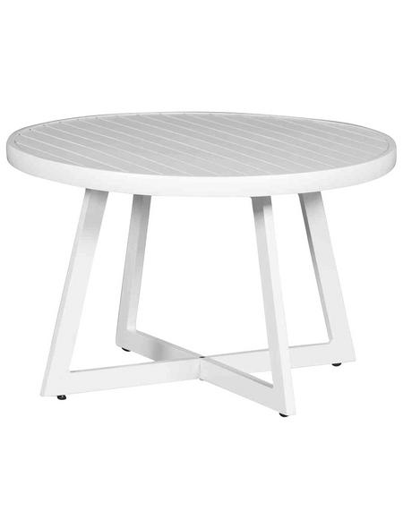SIENA GARDEN Gartentisch »Alexis«, mit Aluminium-Tischplatte, Ø x H: 50 x 35 cm