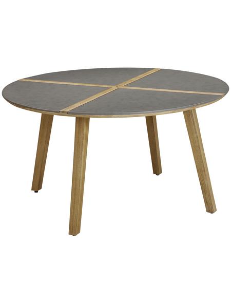 BEST Gartentisch »Barletta«, mit Beton-Tischplatte, Ø 140 cm