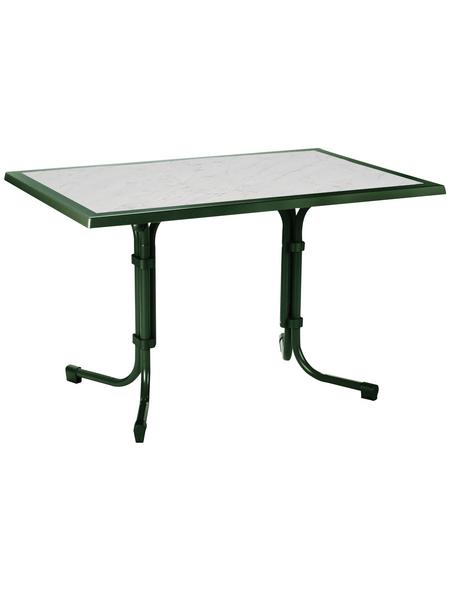 BEST Gartentisch »Boulevard«, mit Werzalit-Tischplatte, BxTxH: 120 x 80 x 72 cm