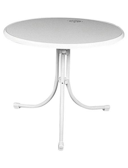 MFG FREIZEITMÖBEL Gartentisch »Boulevard-Tisch«, mit Sevelit-Tischplatte, Ø x H: 85 x 70 cm