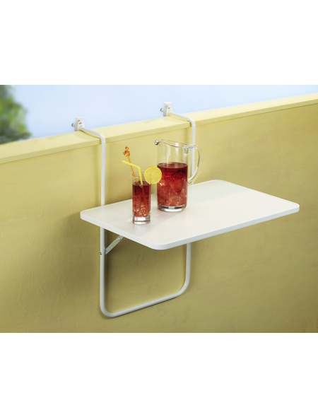 BEST Gartentisch »Boy« mit Alcolit-Tischplatte, BxTxH: 60 x 40 x 5 cm