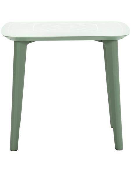 Gartentisch Celano Bxhxt 85 X 75 X 85 Cm Tischplatte Kunststoff Hagebau De