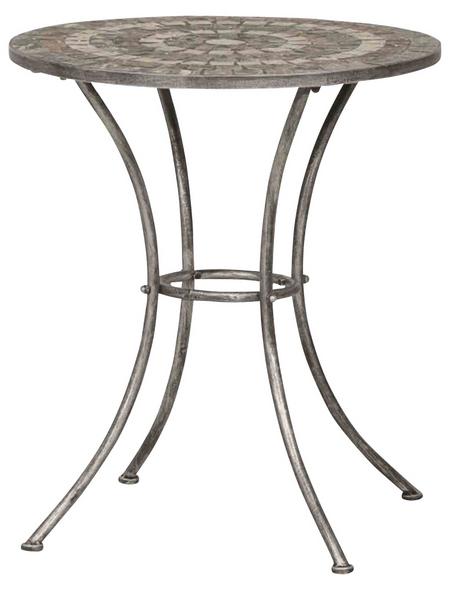 SIENA GARDEN Gartentisch »Felina«, mit Keramik-Tischplatte, Ø x H: 70 x 70 cm