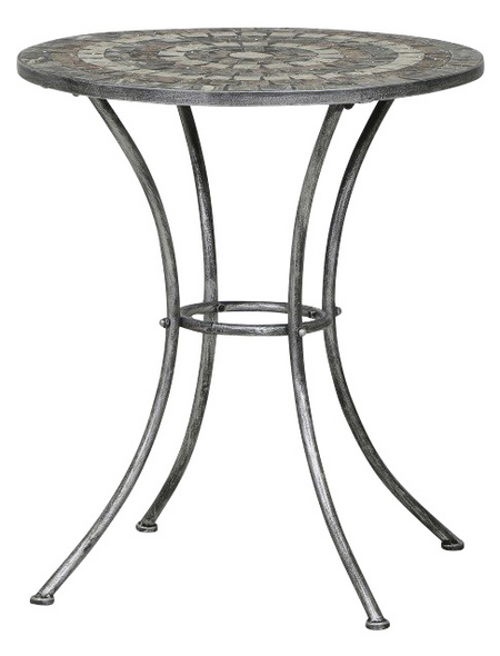 Siena Garden Gartentisch Felina Mit Keramik Tischplatte O X H 70 X 70 Cm Hagebau De