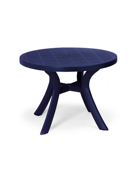 BEST Gartentisch »Kansas«, mit Kunststoff-Tischplatte, Ø x H: 100 x 72 cm