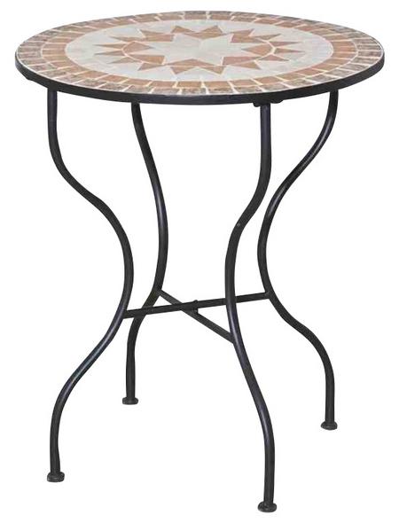 SIENA GARDEN Gartentisch mit Keramik-Tischplatte