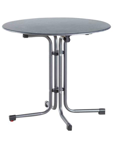 SIENA GARDEN Gartentisch mit Topalit®-Tischplatte