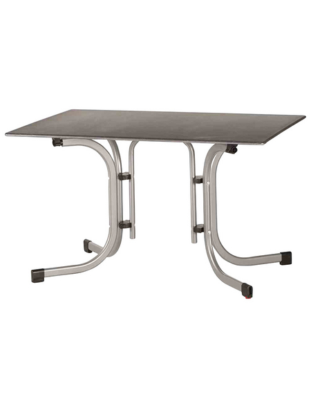 SIENA GARDEN Gartentisch, mit Topalit®-Tischplatte, BxTxH: 120 x 80 x 71 cm
