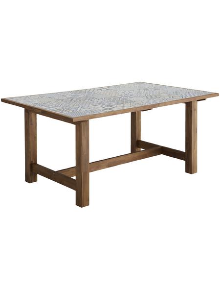 Merxx Gartentisch Pariba Bxhxt 172 X 75 X 105 Cm Tischplatte Keramik Hagebau De