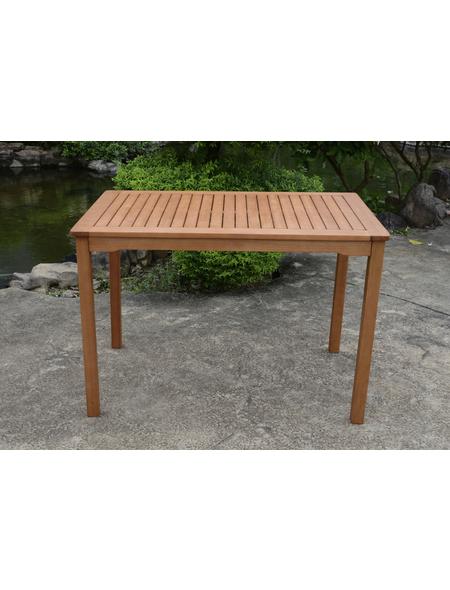 GARDEN PLEASURE Gartentisch »Pittsburgh«, mit -Tischplatte, BxTxH: 110 x 70 x 75 cm