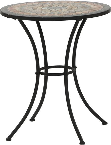 SIENA GARDEN Gartentisch »Prato« mit Keramik-Tischplatte, Ø 60 cm