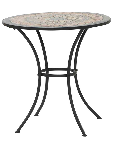SIENA GARDEN Gartentisch »Prato« mit Keramik-Tischplatte, Ø 70 cm