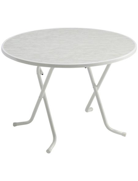 BEST Gartentisch »Primo« mit Alcolit-Tischplatte, Ø 100 cm