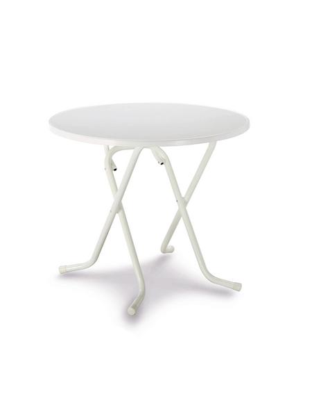 BEST Gartentisch »Primo«, mit Alcolit-Tischplatte, Ø 80 cm