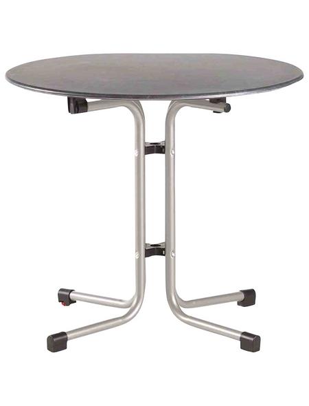 SIENA GARDEN Gartentisch »Slim«, mit Topalit-Tischplatte