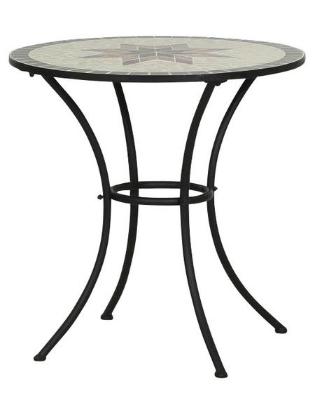 Siena Garden Gartentisch Stella Mit Keramik Tischplatte O X H 70 X 71 Cm Hagebau De