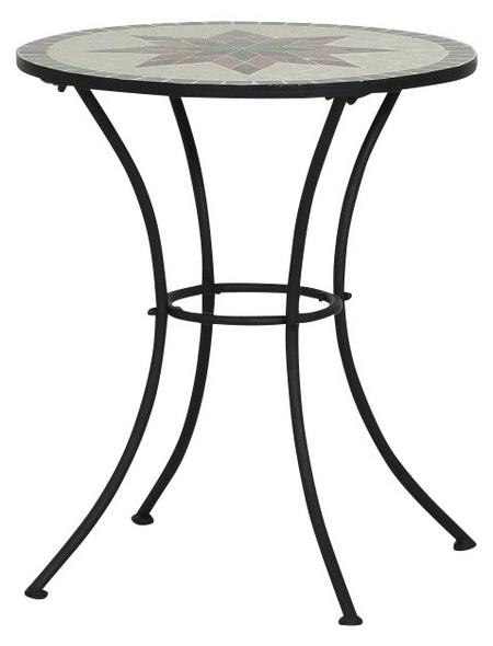 SIENA GARDEN Gartentisch »Stella«, mit Stahl-Tischplatte