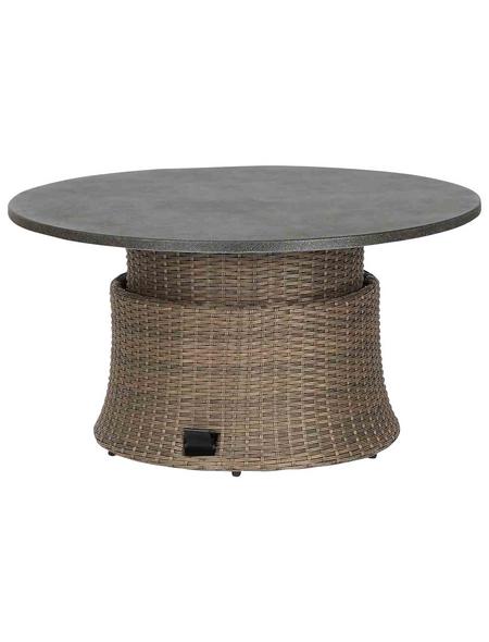 SIENA GARDEN Gartentisch »Teramo« mit Spraystone-Tischplatte