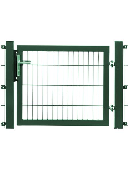 FLORAWORLD Gartentor Systemtor, Höhe: 140 cm, Stahl, grün