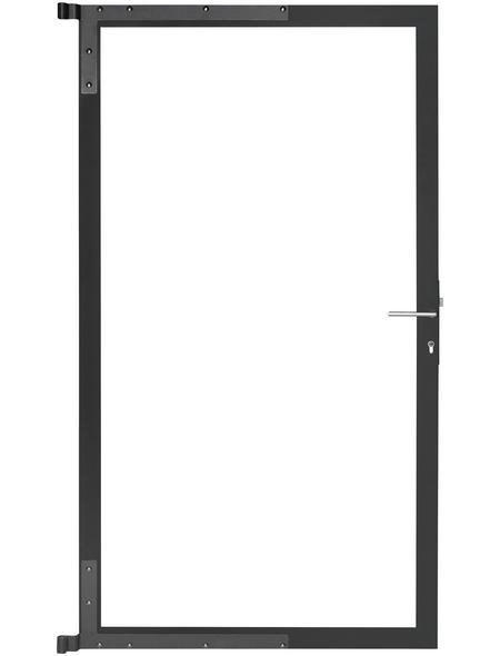 MR. GARDENER Gartentorrahmen, BxH: 110 x 180 cm, Aluminium