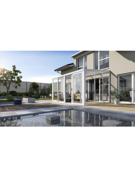 GARDENDREAMS Gartenzimmer »Easy«, Außenmaße B x T x H: 700  x 250  x 266  cm
