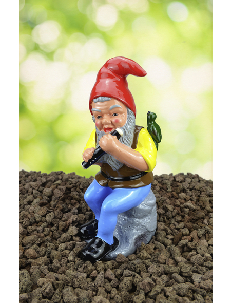 HEISSNER Gartenzwerg, Höhe: 31  cm, Keramik, bunt