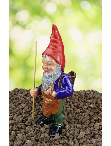 HEISSNER Gartenzwerg, Waldfried der Sammlerzwerg mit Korb, Höhe: 35  cm, Keramik, bunt