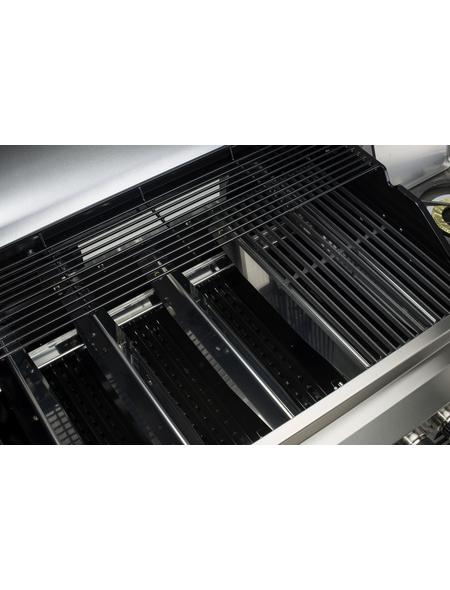 LANDMANN Gasgrill »Avalon PTS+ 3.1«, 4 Brenner, 2 Seitenablagen, Seitenkocher,  Unterschrank