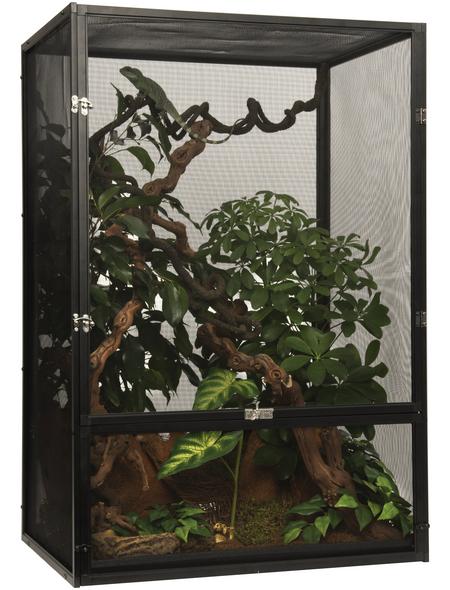 EXO TERRA Gaze Terrarium, Screen Terrarium, 60 x 45 x 90 cm, 1 x Substratwanne enthalten
