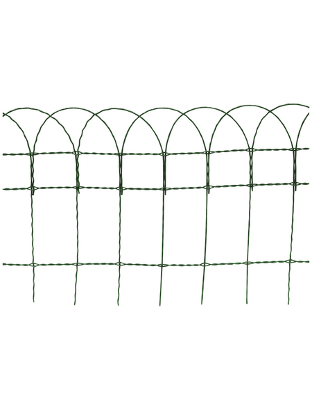 FLORAWORLD Geflechtzaun, HxL: 40 x 1000 cm, grün