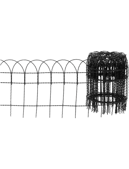 FLORAWORLD Geflechtzaun, HxL: 65 x 1000 cm, anthrazit