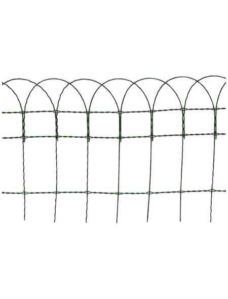FLORAWORLD Geflechtzaun, HxL: 90 x 1000 cm, grün