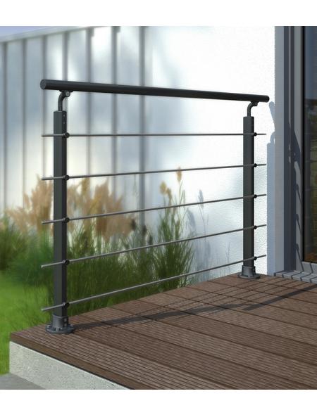 DOLLE Geländersystem »Prova«, Aluminium, HxL: 100 x 150 cm