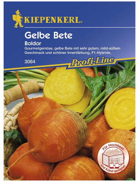 KIEPENKERL Gelbe Bete vulgaris subsp. Vulgaris Beta
