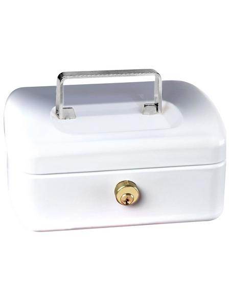 BURG WÄCHTER Geldkassette »Office«, mit Zylinderschloss, 17,3 x 7,3 x 13 cm