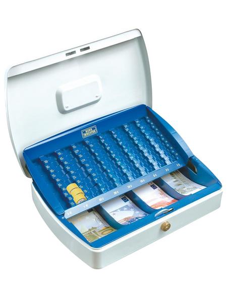 BURG WÄCHTER Geldkassette »Office«, mit Zylinderschloss, 25,5 x 7,5 x 20 cm