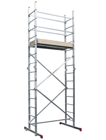 KRAUSE Gelenkgerüst »CORDA«, Gerüsthöhe: 420 cm