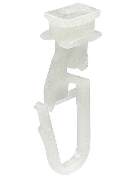 LIEDECO Gelenkgleiter, Weiß, 25 Stück