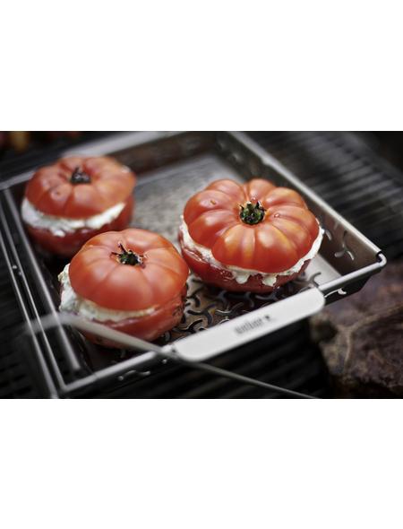 WEBER Gemüsekorb »Elevations Tiered Grilling System (ETGS)« aus Edelstahl
