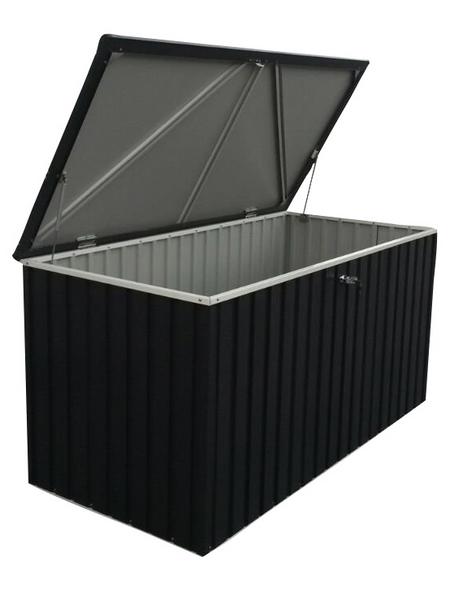 TEST RITE tepro GmbH Gerätebox, aus Stahlblech, 195x94,4x95cm (BxHxT), 1.450 Liter