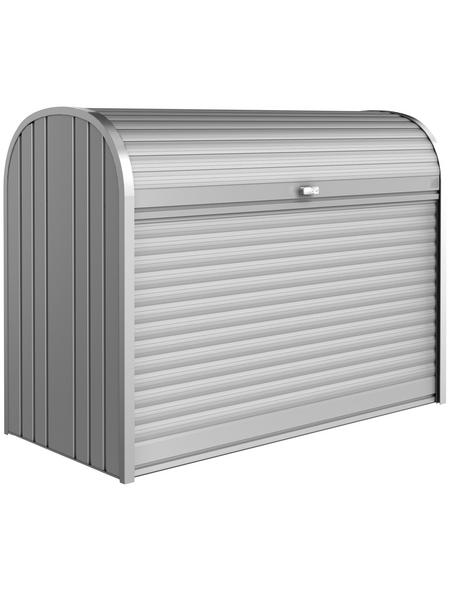 BIOHORT Gerätebox »StoreMax«, aus Aluminium und Stahlblech, 163x120x78cm (BxHxT), 1.200 Liter
