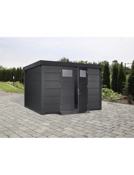 WOLFF FINNHAUS Gerätehaus, Außenmaße B x T: 328  x 298  cm