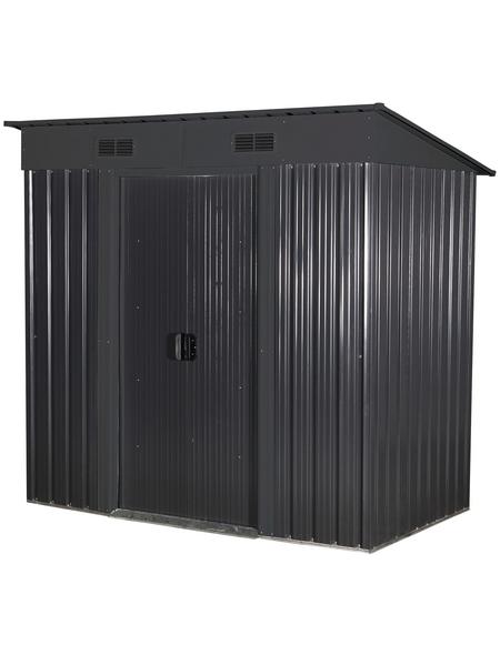 Gerätehaus, Außenmaße B x T x H: 195  x 121  x 196  cm