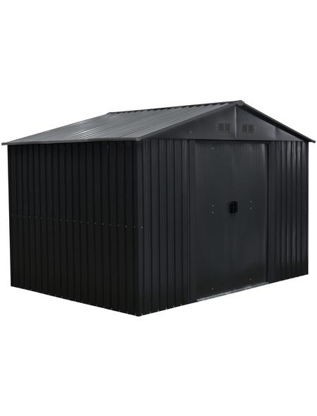 Gerätehaus, Außenmaße B x T x H: 301  x 238  x 214  cm