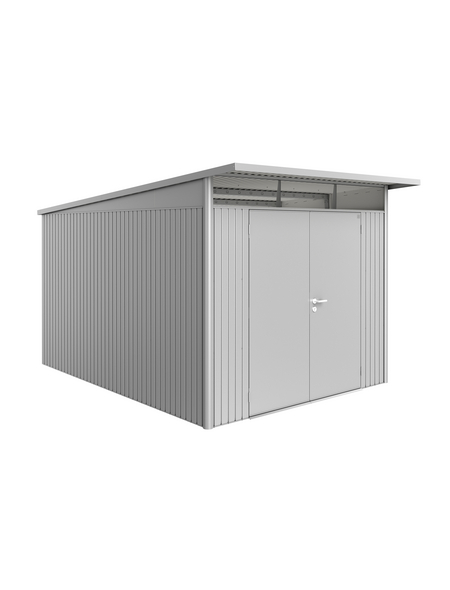 BIOHORT Gerätehaus »AvantGarde®«, Außenmaße B x T x H: 254  x 334  x 222  cm
