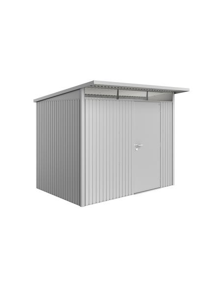 BIOHORT Gerätehaus »AvantGarde®«, Außenmaße B x T x H: 257  x 177  x 218  cm