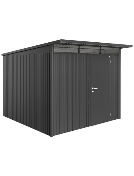 BIOHORT Gerätehaus »AvantGarde«, Außenmaße (BxTxH): 260 x300 x217  cm